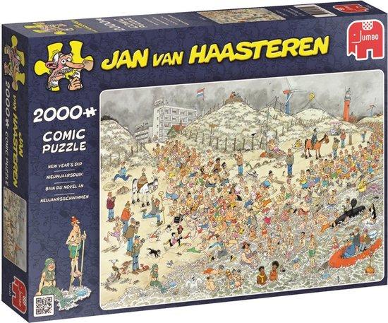 Afbeelding van Jan van Haasteren De Nieuwjaarsduik - Puzzel 2000 stukjes