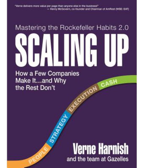 Boek cover Scaling Up van Harnish Verne (Hardcover)