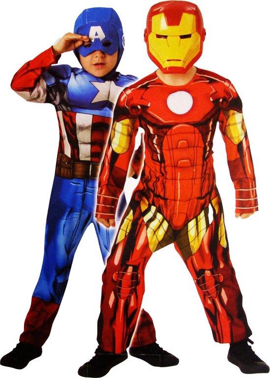 Reversible deluxe Capt. America/Iron Man - Child - Carnavalskleding - Rubies