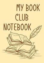 My Book Club Notebook