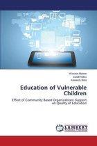 Omslag Education of Vulnerable Children