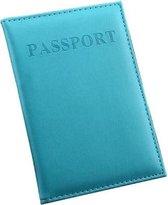 (Licht) Blauwe Paspoort Protector - Beschermhoes - Paspoorthouder - Cover - Mapje