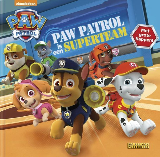 Paw Patrol  -   Paw Patrol is een Superteam