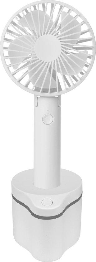 FlinQ Draagbare Ventilator Draaibaar Dockingstation Wit