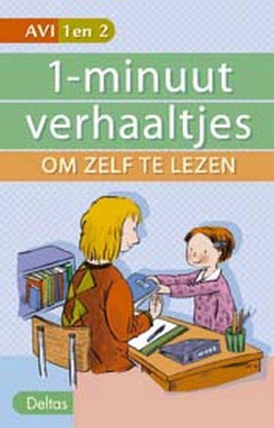 Cover van het boek '1-minuut verhaaltjes om zelf te lezen' van Hetty van Vught