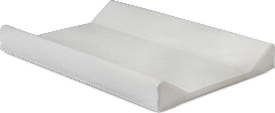 Product: Jollein Aankleedkussen - 50x70 cm - Wit, van het merk Jollein