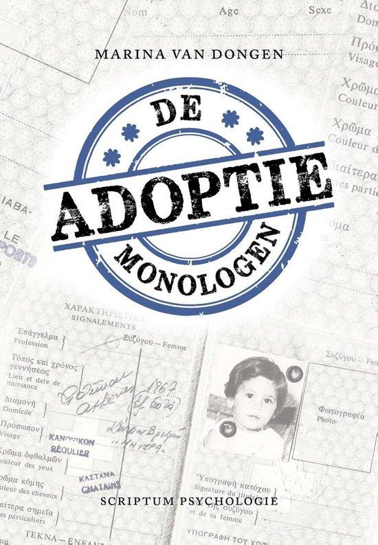 De adoptiemonologen - Marina van Dongen pdf epub