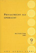 Ars Aequi Cahiers  -   Privaatrecht als opdracht