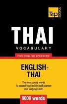 Thai Vocabulary for English Speakers - 9000 Words