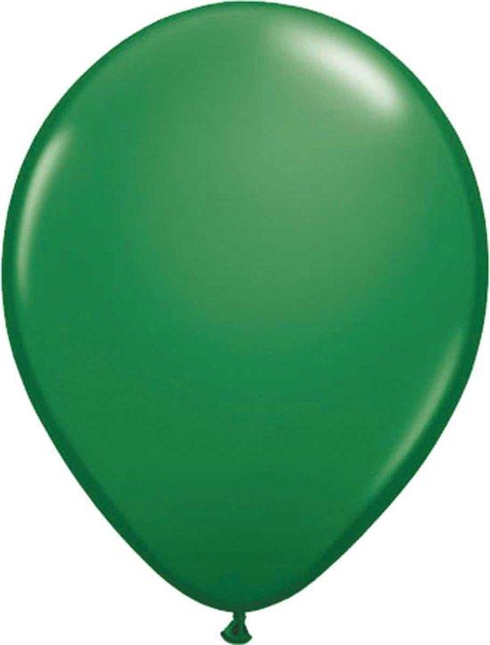 Donkergroene Ballonnen 30cm - 50 stuks