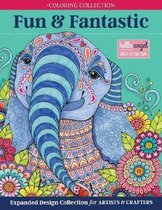 Hello Angel Fun & Fantastic Animals Adult Coloring Collection