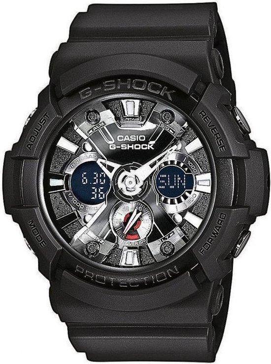 Casio Horloge G-SHOCK GA-201-1AER Kunststof - Zwart