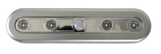 Luxe LED Sensorlamp | Sensor Verlichting | LED Lichtlijst | Kastlicht |  Kastlamp | Keukenverlichting | Geschikt voor Kasten, Kamers, Laden, Caravans, Boten | Zelfklevend | Helder Licht | Batterijen | Kleur: Grijs