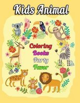 Kids Animal Coloring Books Party Favor
