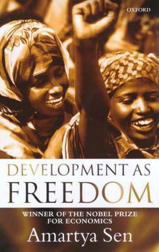 Boek cover Development as Freedom van Amartya Sen (Paperback)