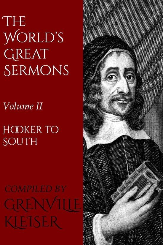 Boek cover The Worlds Great Sermons van Kleiser Grenville