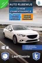 Auto Rijbewijs B - CD-ROM Auto Examentraining B - 845 oefenvragen - 20 Theorie Examens - Ontworpen voor het CBR theorie-examen
