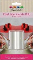 FunCakes Acetaat Folie Rol -5,5 cm hoog-