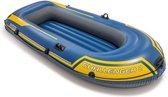 Intex Challenger 2 Opblaasboot - 2-Persoons - Blauw/Geel