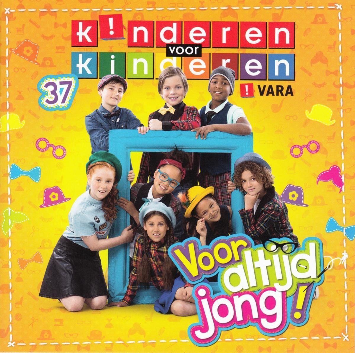 CD Kinderen Voor Kinderen 37 - Voor Altijd Jong - Inclusief Karaoke Nummers - Kinderen voor Kinderen