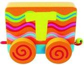 Tatiri Houten letter: treinalfabet t