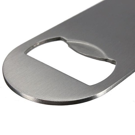 Luxe RVS Flesopener - Bieropener bar - Merkloos