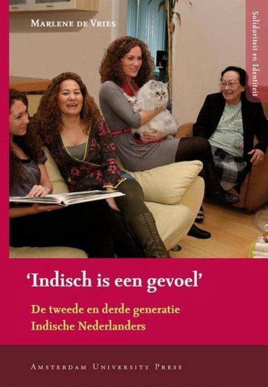 Cover van het boek ''Indisch is een gevoel'' van M. de Vries