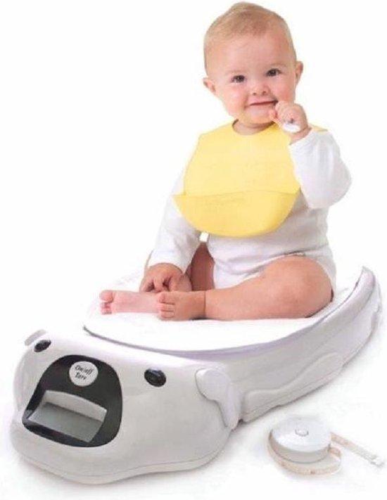 Baby weegschaal incl. dekentje en meetlint babyweegschaal - tot 20kg