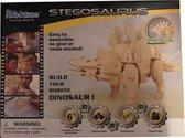 Lopende 3D Stegosaurus Houten Puzzel met sound control