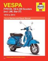 Afbeelding van Vespa P/Px125, 150 & 200 Scooters (78 - 14)