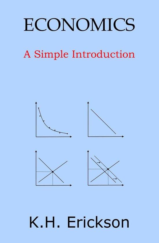 Boek cover Economics: A Simple Introduction van K H Erickson (Onbekend)