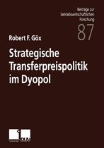 Strategische Transferpreispolitik Im Dyopol