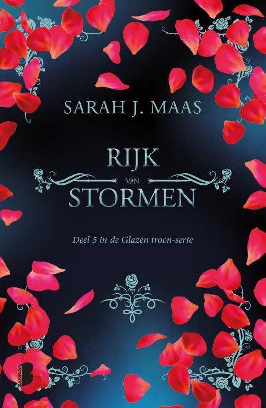 Glazen troon 5 - Rijk van stormen - Sarah J. Maas |