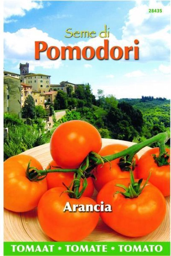 Tomaten Pomodori Arancia - Lycopersicon esculentum - set van 8 stuks