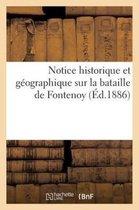 Notice Historique Et G ographique Sur La Bataille de Fontenoy