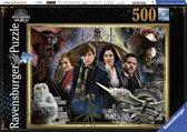 Ravensburger puzzel Fantastic Beasts - legpuzzel - 500 stukjes