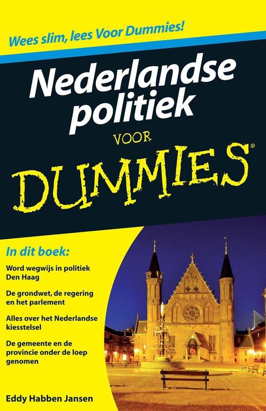 Nederlandse politiek voor Dummies - Eddy Habben Jansen  