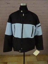 Frank Sommer Sportswear Jack, [ Collin ] Licht blauw zwart, maat S. Art: 103316.