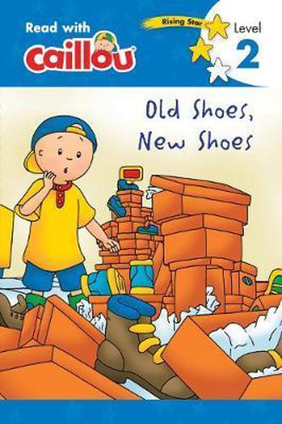 Caillou, Old Shoes, New Shoes