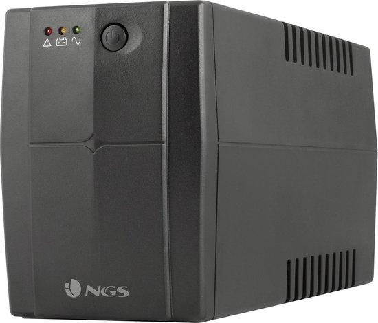 NGS Fortress 1200 V2 Stand-by (Offline) 800VA 2AC outlet(s) Zwart - UPS - 480W - Noodstroom