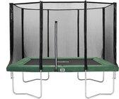 Salta Combo Trampoline met veiligheidsnet - 153 x 213 cm - Groen