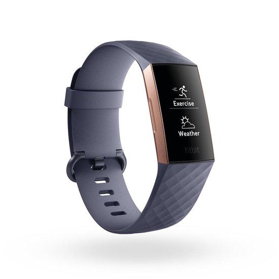 Fitbit Charge 3 - Activity tracker - Blauw/Grijs