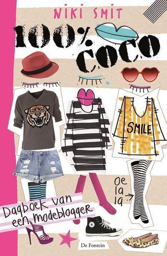 Cover van het boek '100% Coco + meegesealde ByNiki-kaarten' van Niki Smit
