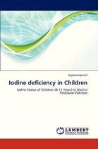 Iodine Deficiency in Children