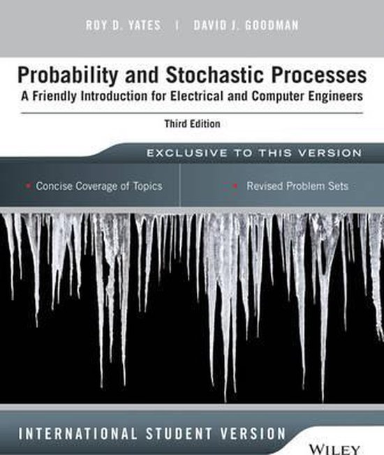 Afbeelding van Probability and Stochastic Processes