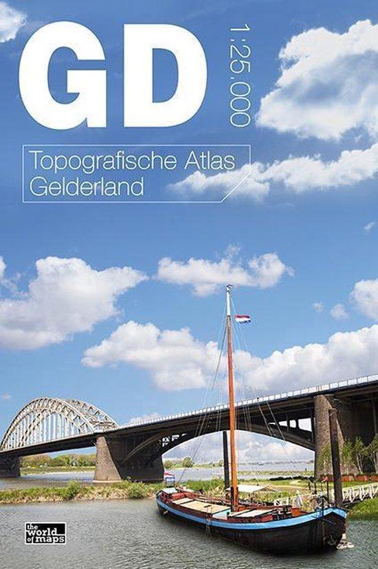 Boek cover Topografische atlas van Gelderland van Thomas Termeulen