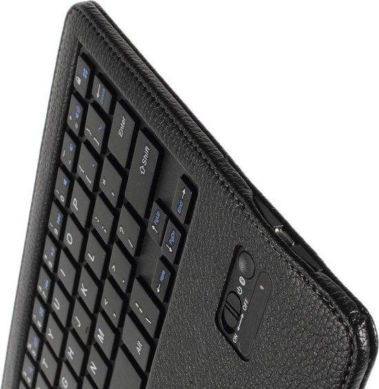 Javu Samsung Galaxy Tab S 10.5 Bluetooth Toetsenbord Hoes Keyboard Cover Zwart