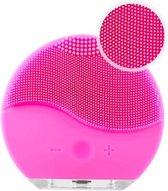 Gezichtsborstel - Elektrische Gezichtsreiniger - Siliconen borstel met trillingen voor de huid - Poriën scrubben - Mee-eters - Voor alle huidtypes - Huidverzorging - USB Oplaadbaar