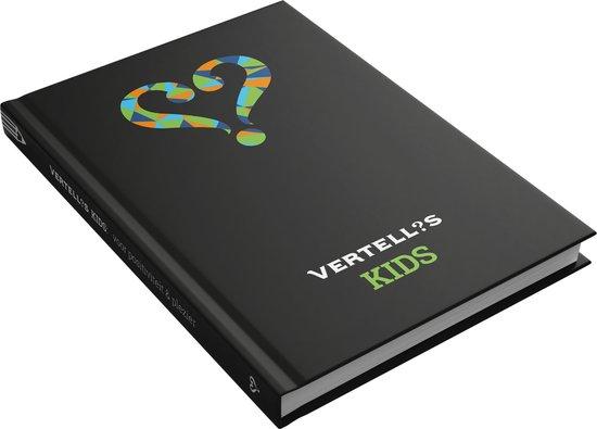 Vertellis KIDS: een dagboek met vragen voor positiviteit & plezier