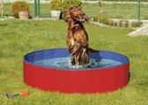 Karlie Hondenzwembad - 160x160x30 cm - Rood/Blauw - L